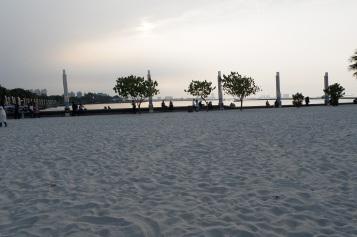 pasir putih dari Belitung