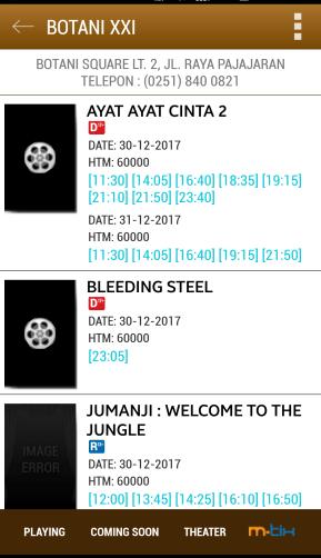 pilih film